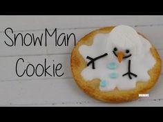 Snowman Cookie (English subtitles) [Tuto fimo] - YouTube