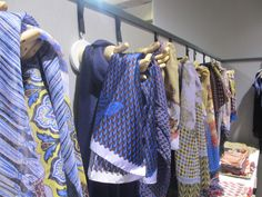 Jean-Jacques Rogers who worked for the likes of Givenchy, Lanvin, Chanel  and Balmain, exhibited his luxe scarves line at the Premiere Classe.