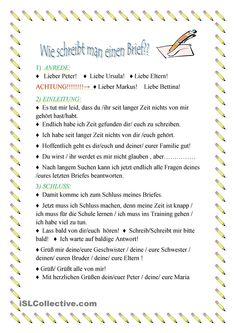 1000 images about german brief email und sms schreiben on pinterest learn german deutsch. Black Bedroom Furniture Sets. Home Design Ideas