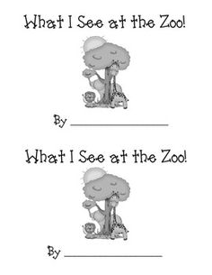 This is a cute and interactive sight word reader that has a zoo theme.  The students will read the text and add in a classmate's name.  Focus is on...