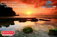 3D/2N EXPERIENCE BALI PACKAGE WITH DINNER CRUISE Mulai Rp.1,106,336 - www.evoucher.co.id #Promo #Diskon #Jual  klik > http://www.evoucher.co.id/deal/tour-dengan-myglobaltrip  Nikmati indahnya pulau bali dengan tiga pilihan tujuan trip yang seru serta 2 pilihan Hotel Berkelas Apalagi kamu bisa menikmati menu lezat sesuai pilihan tripmu