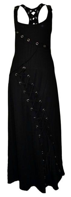 Poizen Industries - Raven Maxi Dress - Black