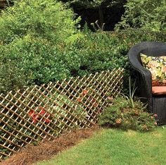 Nice Flexible Willow Expandable Fence, From Master Garden Products. Perfect For  Climbing Vines Or As