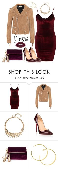 Patrizzia11.12.2016a by patrizzia on Polyvore featuring moda, Glamorous, Yves Saint Laurent, Christian Louboutin, Steve Madden and Oscar de la Renta