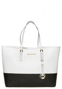 JET SET TRAVEL - Shopping Bag - opticwhite/black