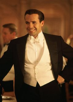 #23 My influence started with the film titanic and I decided to look at 1900's gentlemen from there  Billy Zane AKA Cal Rose's Fiance On Titanic