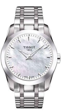 Tissot Women's Couturier Secret Date Lady Bracelet Watch, High End Watches, Watches For Men, Casual Watches, Ladies Bracelet Watch, Glas Art, Silver Pocket Watch, Watch Brands, Digital Watch, Luxury Watches