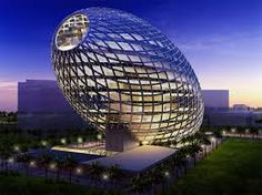 Cybertecture Egg Building - Unusual and creative building
