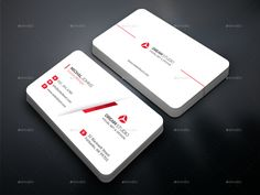 Buy Business Card Bundle 2 IN 1 by DreamStudio-eg on GraphicRiver. FEATURES: 02 Business card Easy customizable and editable design Business card in with bleed CMYK Color