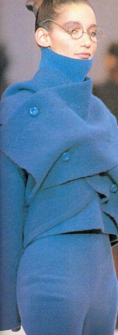 """Issey Miyake Fall/Winter 1989 """