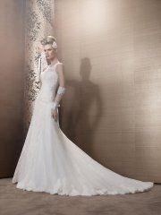 Suknia ślubna Pronuptia Daphnee, kolor ivory i biel