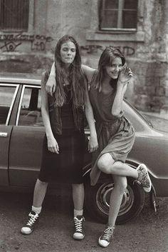 With Renée