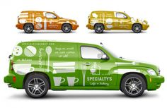 Specialty's Cafe & Bakery Branding VEHICLE WRAP FOR TOTMC DELIVERIES!