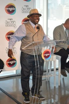 Weekend Recap: Soul Train Music Awards Press Conference, Hosted By Cedric The Entertainer [Photos] Chubby Men Fashion, Big Men Fashion, Men's Fashion, Big N Tall, Big And Tall Style, Train Music, Cedric The Entertainer, Moving To Las Vegas, Soul Train