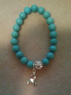 Lymphedema Awareness Bracelet by trezuresbylakesh on Etsy, $22.00