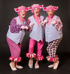 Shrek The Musical Costumes  sc 1 st  Pinterest & Three Little Pigs and Big Wolf - Halloween Costume Contest at ...
