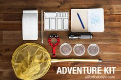 Make your own Adventure Kit - fun gift idea too! from All for the Boys blog