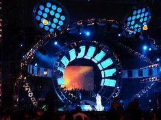 Energy Concert Stage Design - Artjoey Visual Communication