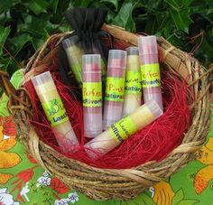 LOVE these natural lip balms!