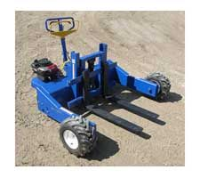 Gas Powered All Terrain Pallet Jack $6342  #stone #landscaping
