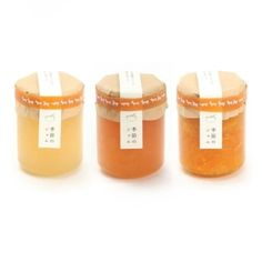 jam packaging with customized rubber bands PD Honey Packaging, Cool Packaging, Bottle Packaging, Brand Packaging, Jam Label, Japanese Packaging, Food Design, Design Web, Type Design