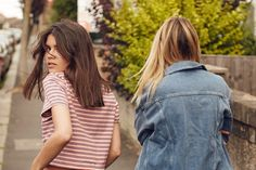 We were thrilled when Urban Outfitters asked to collaborate with WSS for the second time; if you remember, we previously worked with them for part of their 'creative couples' series. This time round the focus was on denim - which worked wonderfully for us - we each chose a few pieces from the