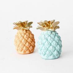 Pineapple Pair Pineapple Homewares Pineapple par hodihomedecor