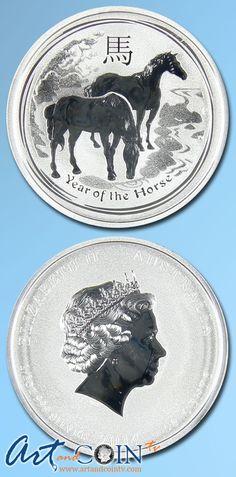 Australian 2014 1/2 oz. Silver Horse