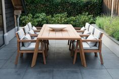design home app Outdoor Dining Furniture, Pool Furniture, Outdoor Decor, Furniture Design, Design Home App, House Design, Quinta Interior, Design Minimalista, Woodworking Projects That Sell