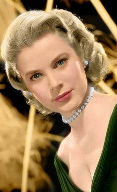 Grace Kelly, her daughter-in-law, Princess Charlene looks so much like her.