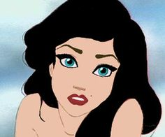 the little mermaid with  black hair | Popular black hair Images from July 30, 2012