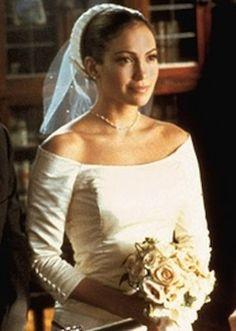 Love Jennifer Lopez's retro dress in The Wedding Planner