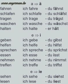 www.engerman.de More #foreignlanguagesquotes Study German, Learn German, German English, Learn French, German Grammar, German Words, Deutsch Language, Germany Language, Teaching French
