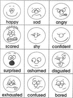 Communication/Feelings Ideas/Activities: Kindergarten on Pinterest | …