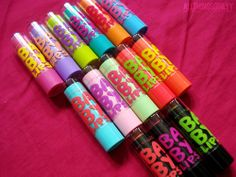 I love Baby lips! I keep these in my scrub pockets at work! I love the mint ones! Just enough tint