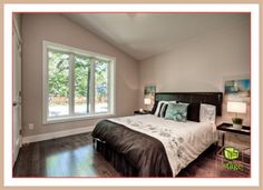 Calgary Bedroom After Staging