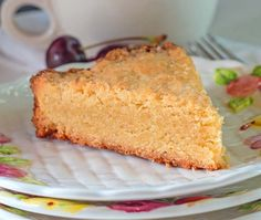Italian Breakfast Cake-A cake with a big shortbread cookie taste. Crisp on the outside with a buttery shortbread consistency and taste on the inside