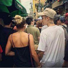 Justin Bieber with Sofia Richie