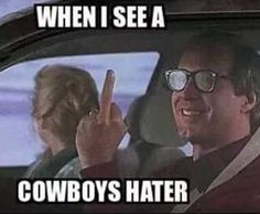 When I see a Cowboys hater