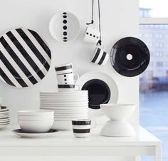 tickar bowl ikea the graphic pattern is inspired by scandinavian simplicity and gives the. Black Bedroom Furniture Sets. Home Design Ideas