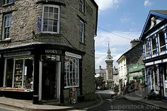 Hay-on-Wye, Wales (town full of used bookstores)