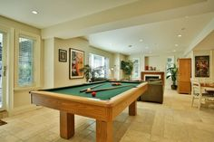 Lower Level Recreation Room   www.LancasterLuxuryHomes.com