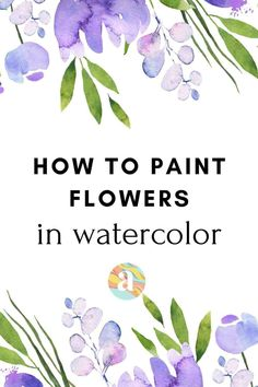 10 easy watercolor ideas for beginner step by step techniques | watercolor painting for beginner #watercolor #watercolorforbeginners Watercolor Beginner, Watercolor Paintings For Beginners, Watercolor Art Lessons, Watercolor Tips, Beginner Painting, Painting Lessons, Watercolor Techniques, Learn Watercolor Painting, Watercolor Artists