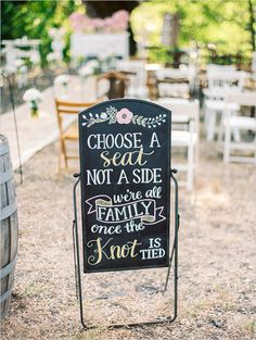 pick a seat wedding ceremony sign wedding chicks . pick a seat wedding ceremony sign wedding chicks More. Wedding Ceremony Ideas, Outdoor Wedding Reception, Wedding Themes, Wedding Tips, Fall Wedding, Diy Wedding, Wedding Venues, Wedding Planning, Dream Wedding