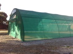 Any Polytunnel can be turned into a shade house by simply changing the cladding material. Cladding Materials, Shade House, Outdoor Gear, Tent, Shades, Houses, Canning, Siding Materials, Homes