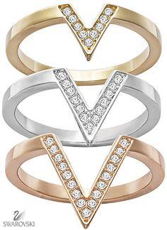 Brilliant Luxury by Emmy DE ♦Swarovski Delta Ring