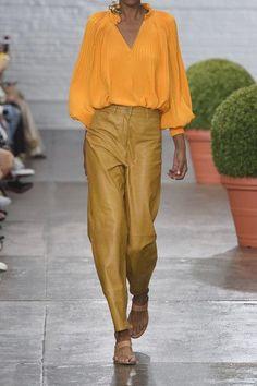Tibi | Plissé silk crepe de chine blouse | NET-A-PORTER.COM
