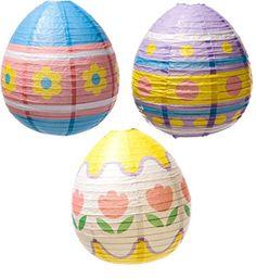 Easter Egg Lantern Decorations | Easy Easter Decor Ideas for the Home | Easy Easter Decorations for Kids