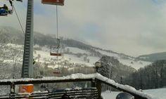 Perfekt im Winter: Skifahren mit Freunden und den Tag mit einer heißen Schoklade ausklingen lassen!  War hier in Tschechien im Skilager, würde ich jederzeit wieder machen