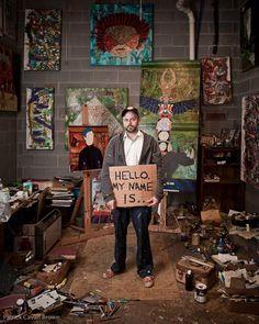 Gabriel Shaffer... artist studio